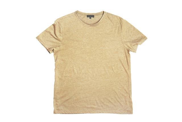 染めたTシャツ