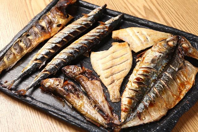 魚焼き各種
