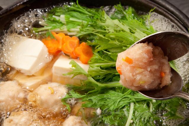 水菜入り鍋