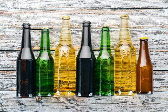様々な種類のビール