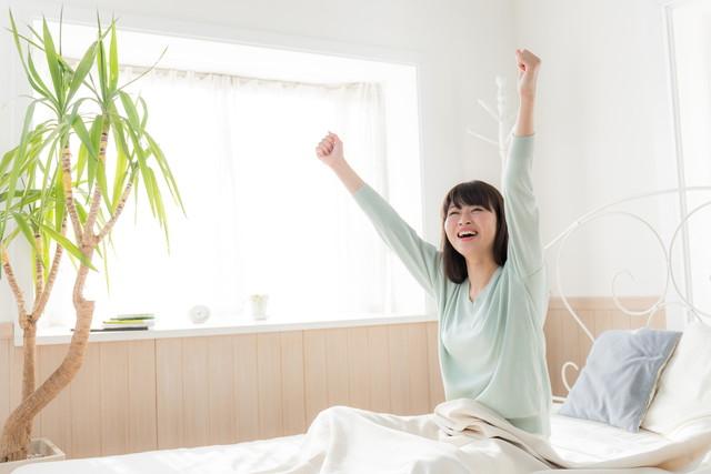 快適な朝の目覚め