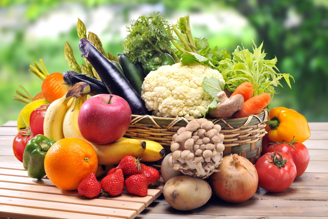 山盛りの野菜