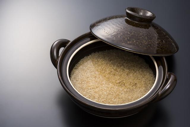 炊きたての玄米