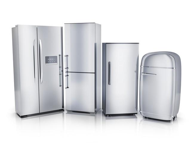 様々なサイズの冷蔵庫