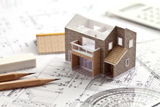 模型の家の写真