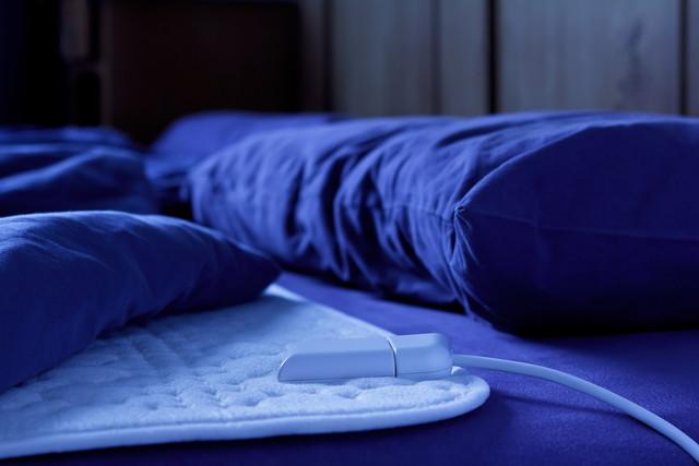 電気毛布の下敷き
