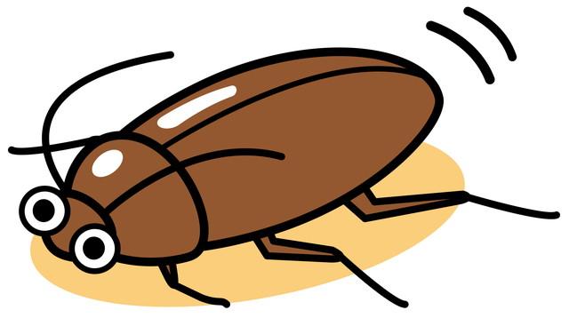 ゴキブリのイラスト