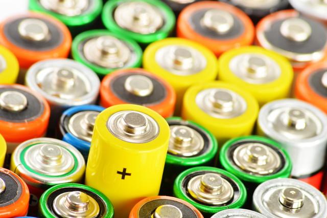 たくさんの電池