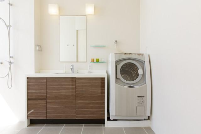 清潔感のある洗濯機