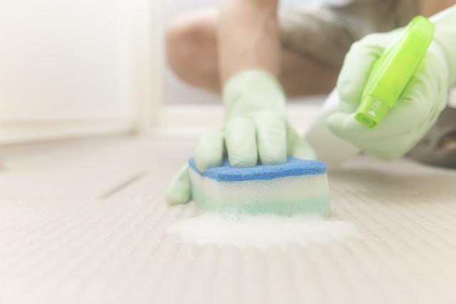 風呂の床掃除
