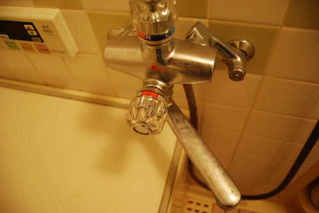 風呂場の水垢
