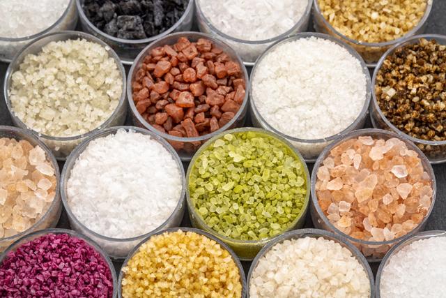 色々な岩塩