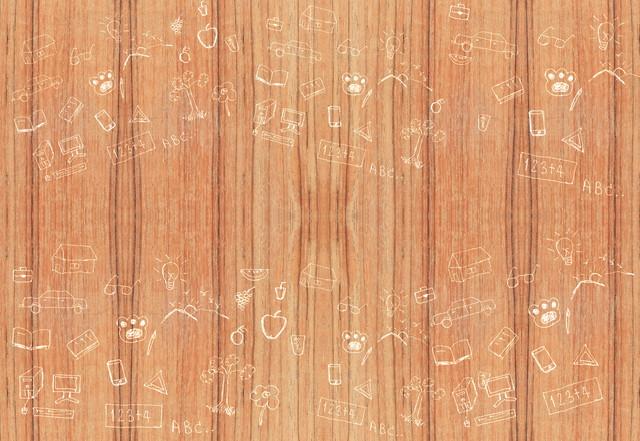 木の壁の落書き