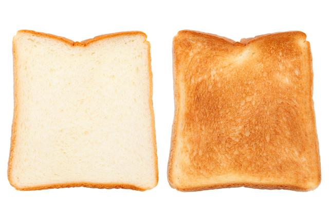トースト 焼き加減