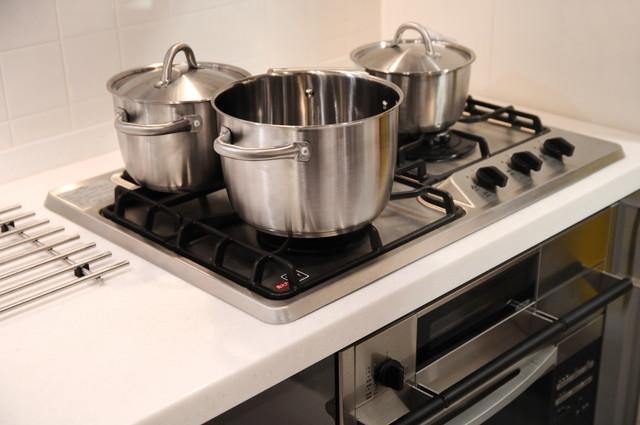 清潔感のある鍋