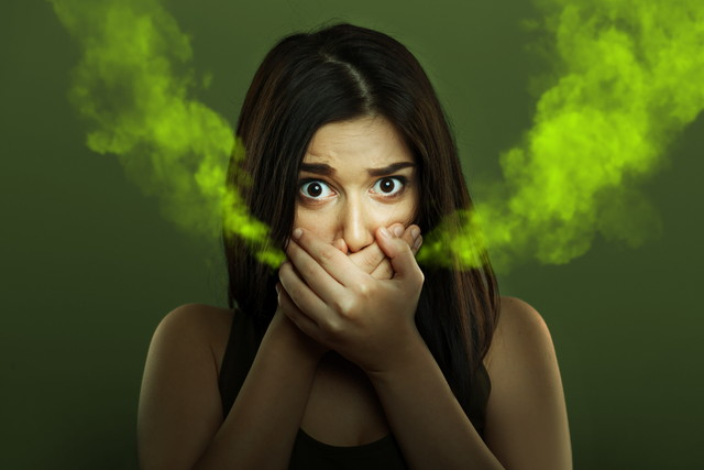 口臭のイメージ