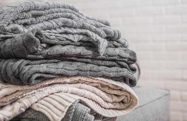 いろいろな素材の毛布