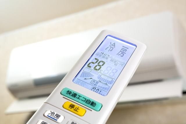 エアコン冷房の温度設定