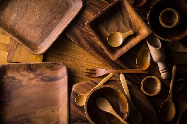 色々な木製食器