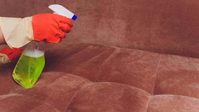 洗剤とソファー