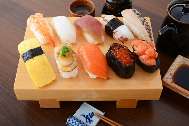 たくさんのお寿司