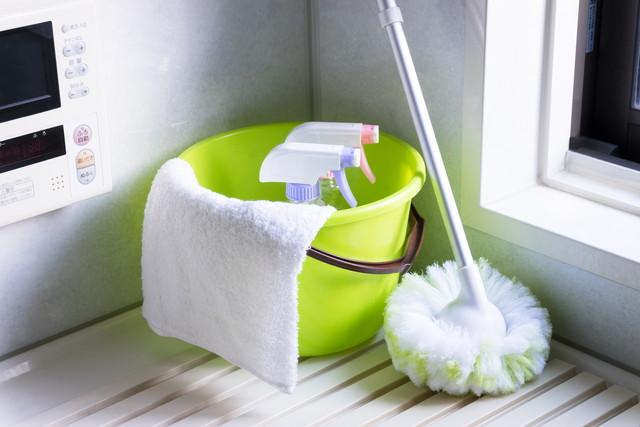 風呂掃除の道具