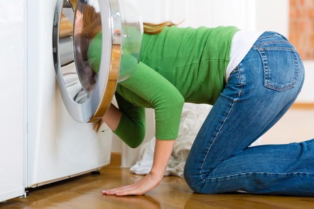 ドラム式洗濯機の故障