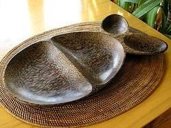 ココナッツ トレー お魚の形