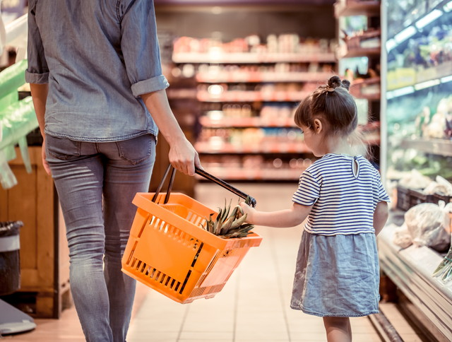 子供と買い物