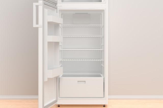 綺麗な冷蔵庫