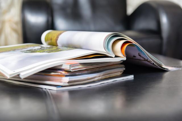 生活感のある雑誌