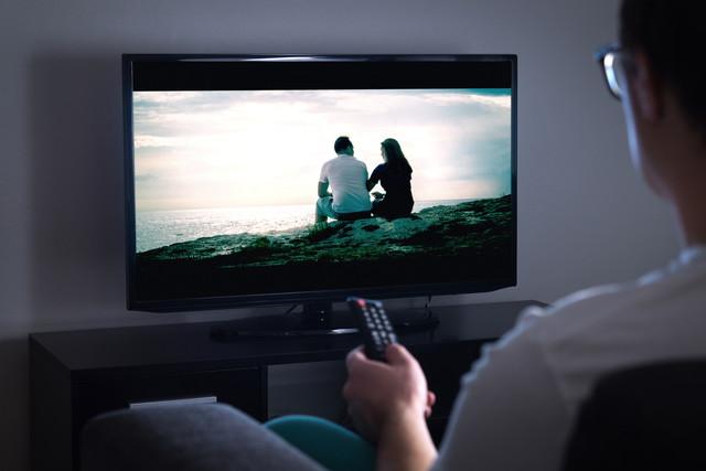 操作が効かないテレビ