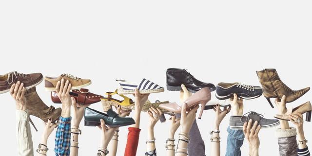 たくさんの靴