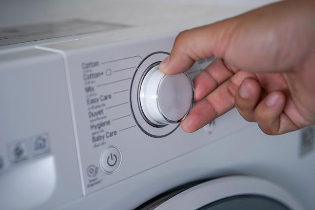 洗濯機の操作
