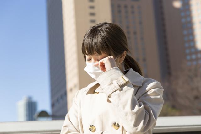 花粉症,目がかゆい