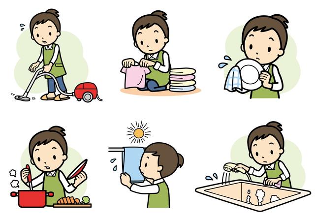 家事の種類