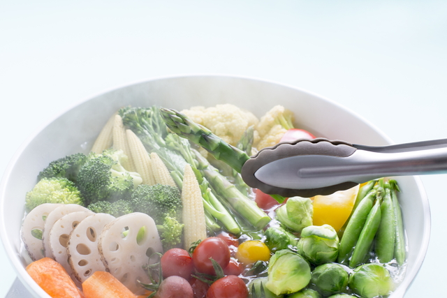 野菜の茹で方