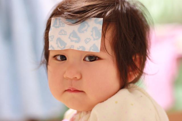 赤ちゃんの頭痛