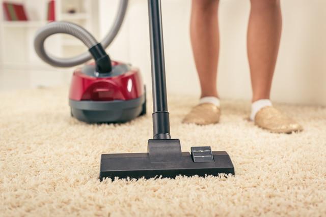 掃除機と絨毯