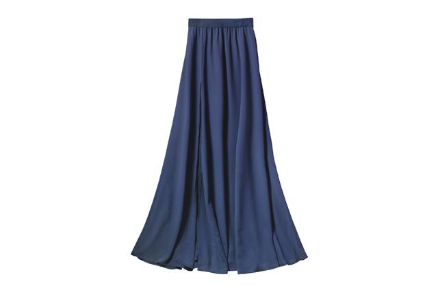 リヨセル素材のスカート