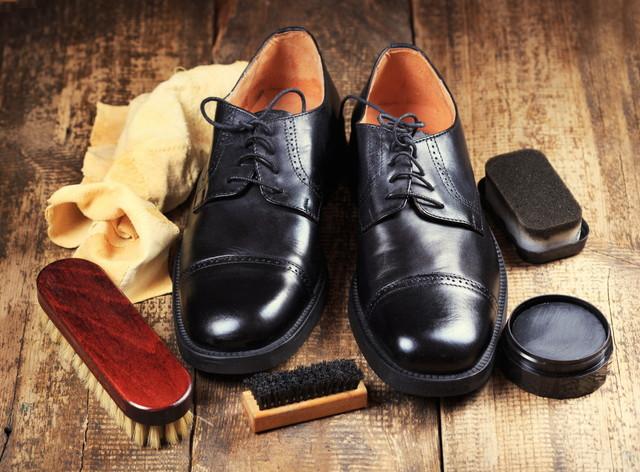 革靴と専用のアイテム