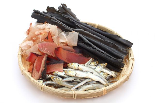 海鮮出汁の材料