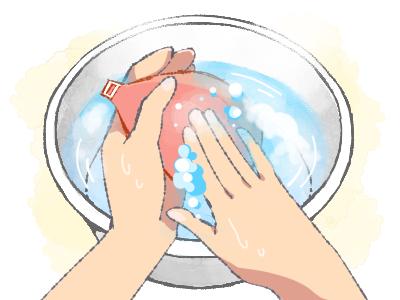 ヌーブラの正しい洗い方手順4
