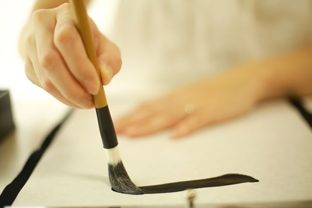 筆 洗い方