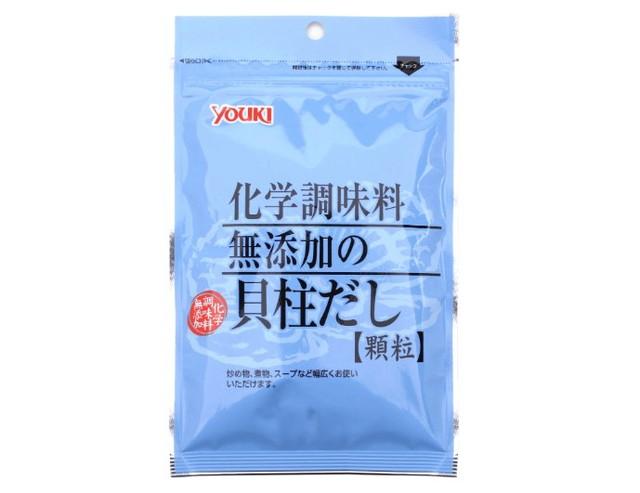 ユウキ 化学調味料無添加の貝柱だし(袋) 60g