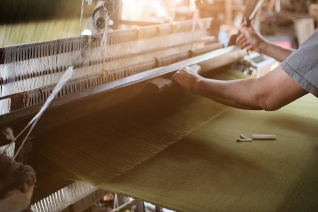 伝統的な織物の製造織物産業