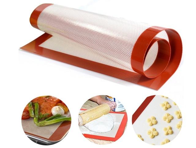 良品優選 シリコン製 断熱パッド オーブンクッキングマット オーブン・電子レンジ対応 Sサイズ