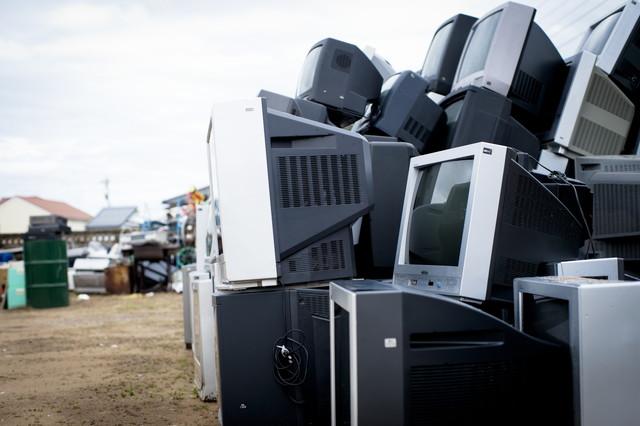 ゴミ収集所のゴミ