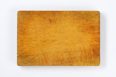 使い古したまな板