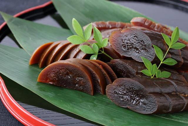 笹の葉と奈良漬